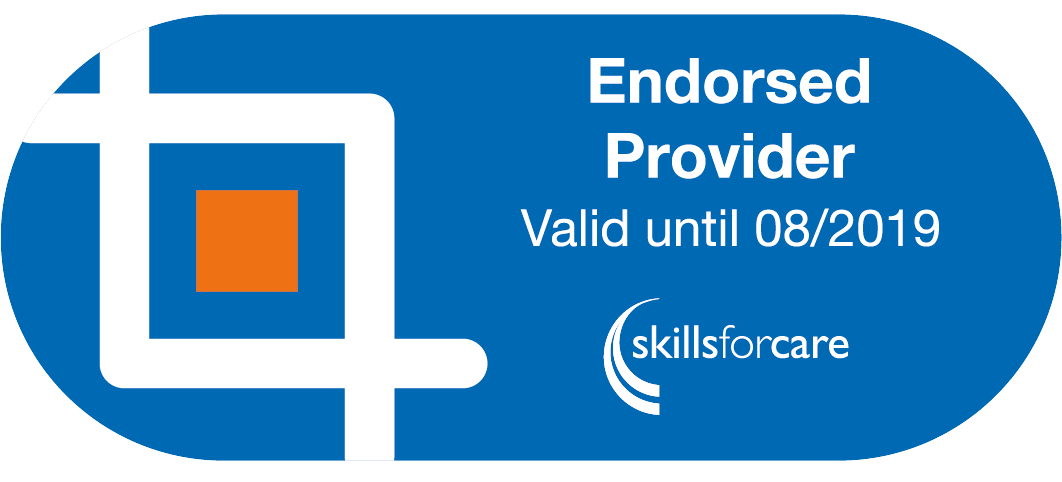 Skills for Care Endorsed Provider Logo
